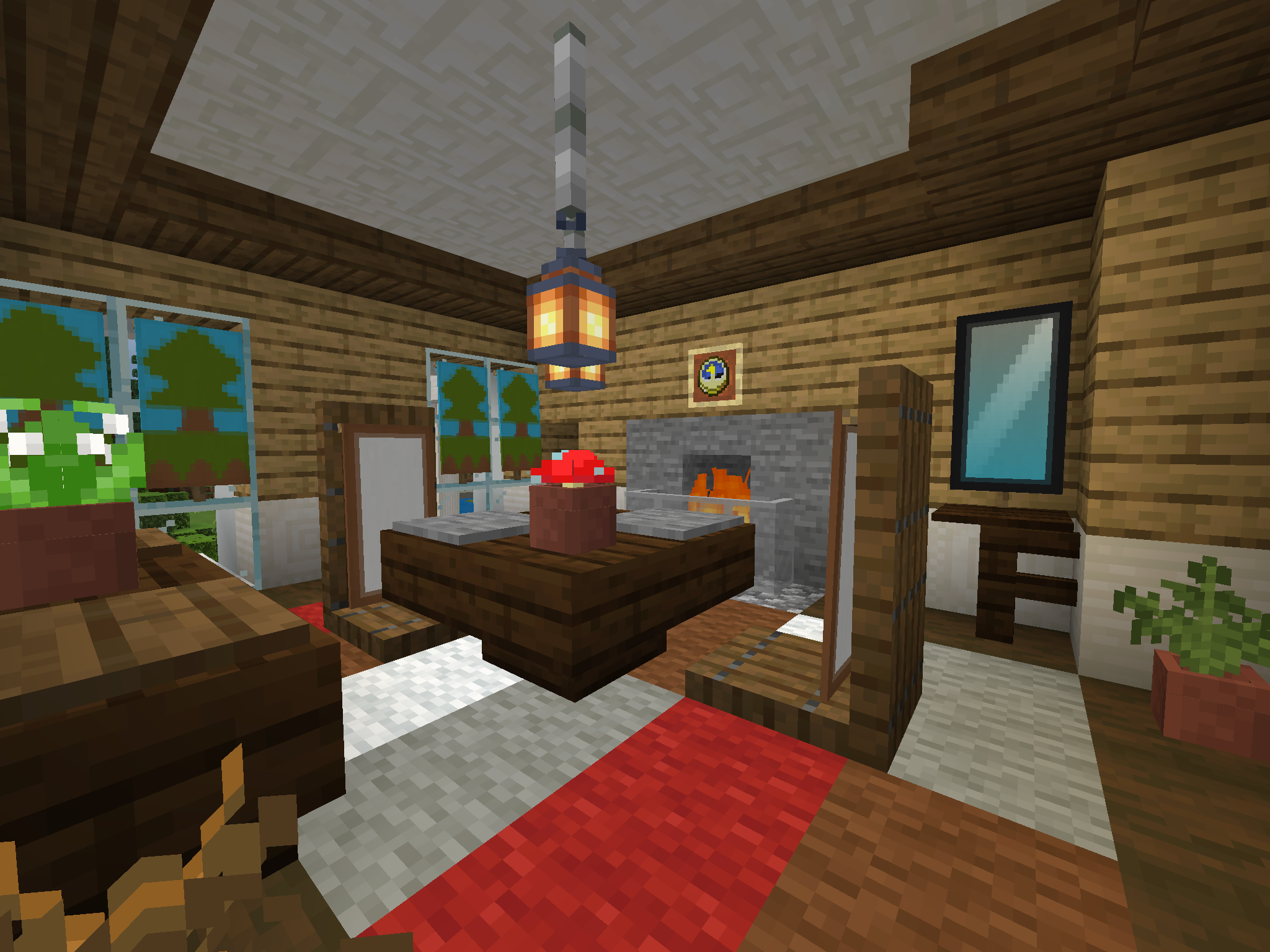 minecraft houses ideas inside