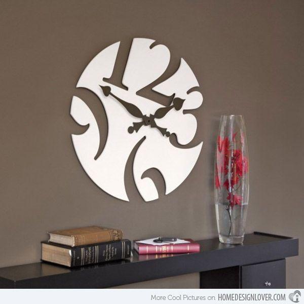 Great 15 Modern Wall Clock Designs Good For Wall Decor