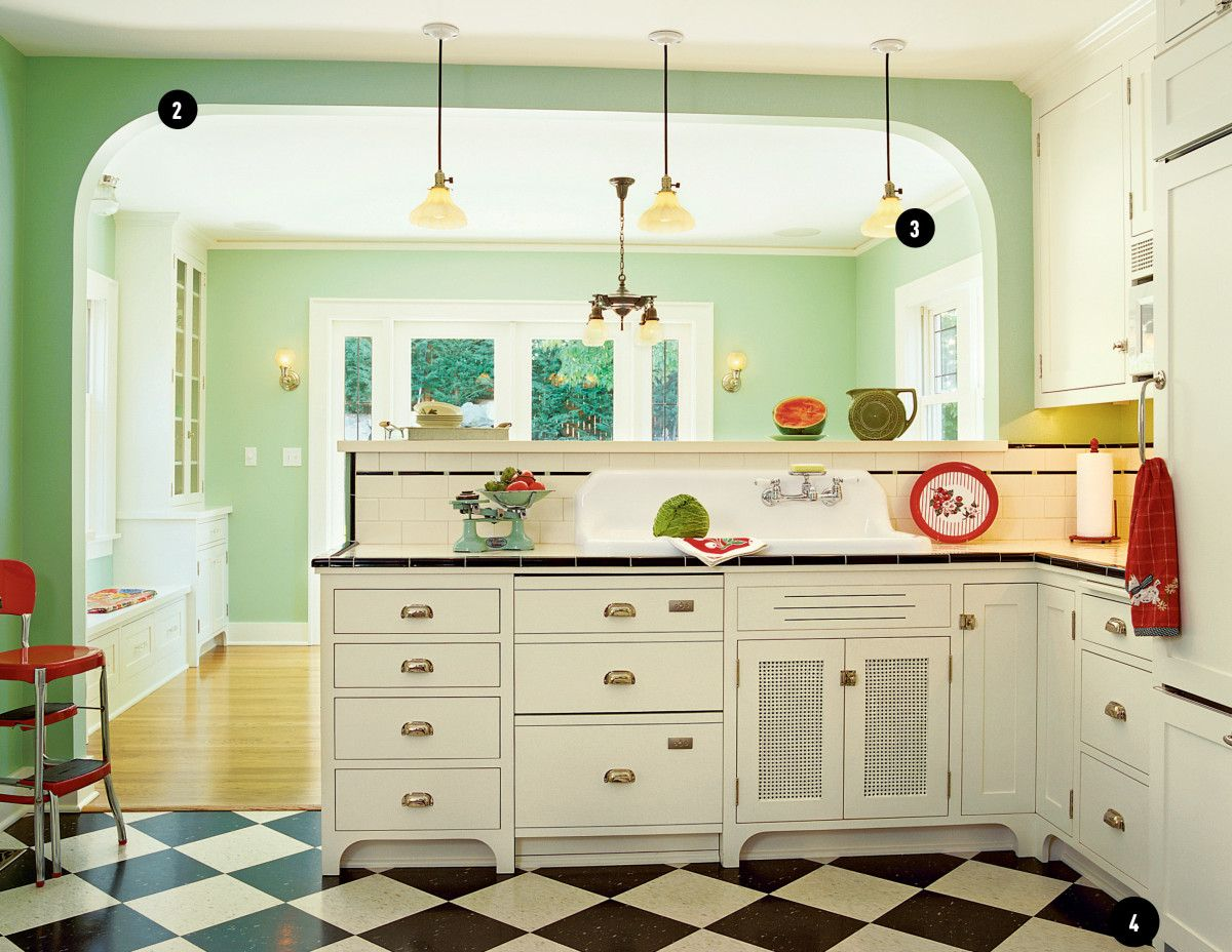 1920s Kitchen Done Right 1920s Kitchen Bungalow Kitchen Kitchen Design