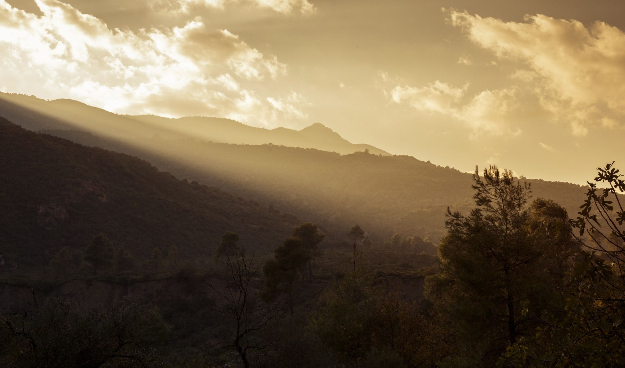 Misty mountains by Spyros Champipis on 500px