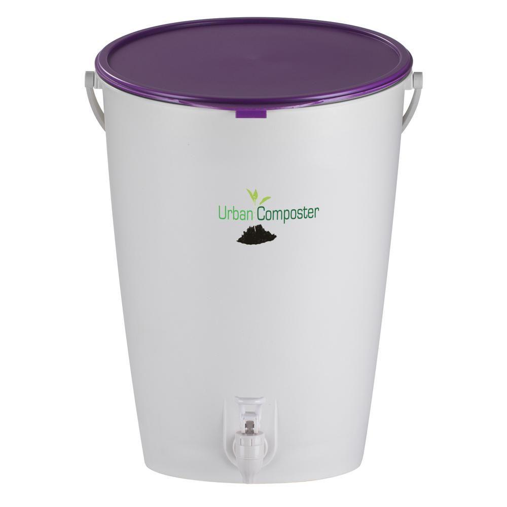 Exaco Urban 2 1 Gal Compost Bucket Ucsmall P Compost Kitchen Compost Bin Compost Bucket