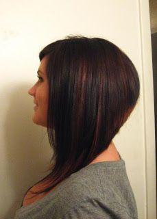Dramatic Long A Line Bob Hair Hair Styles Hair Hair Cuts
