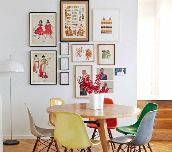 Ein Wunderbares Esszimmer Gestalten Landhausstil Farbige Stuhle