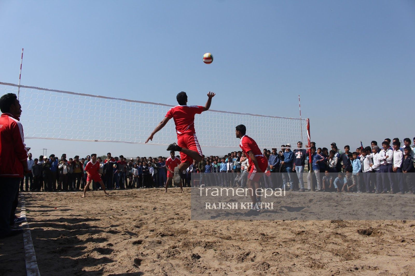 1st Mayor Cup Beach Volley Ball Tournament Dang Photo Feature And Video Frame Nepal Volleyball Volley Tournaments