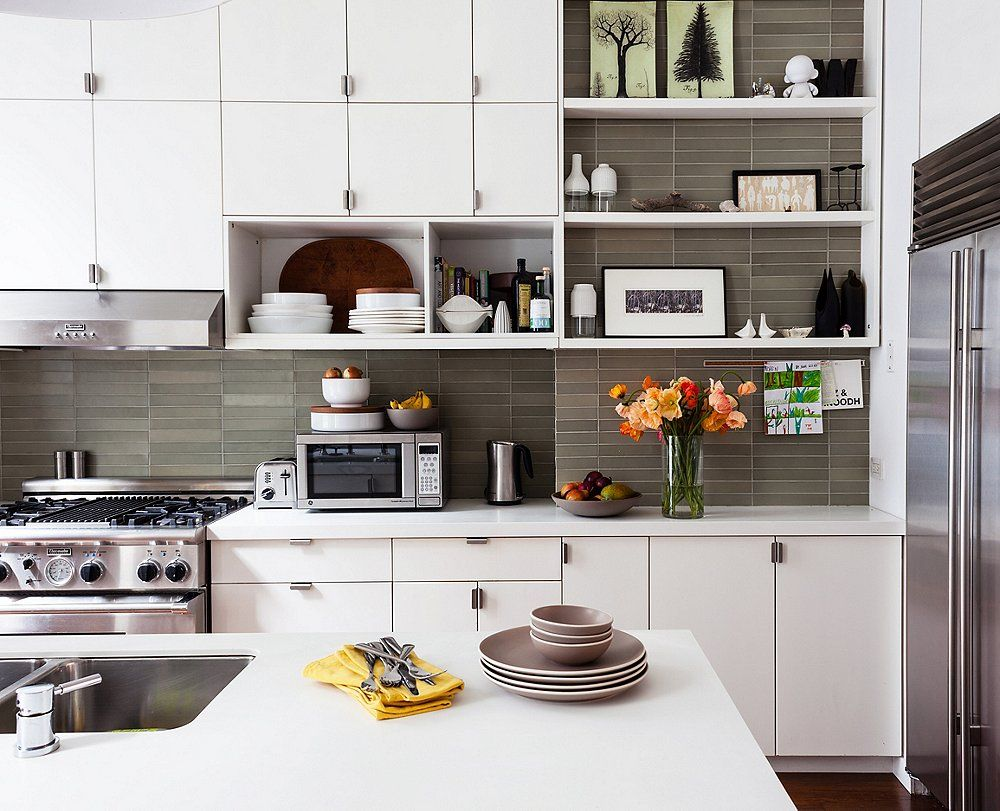 How to Convert your Old Kitchen Cabinet to Stylish Open ...