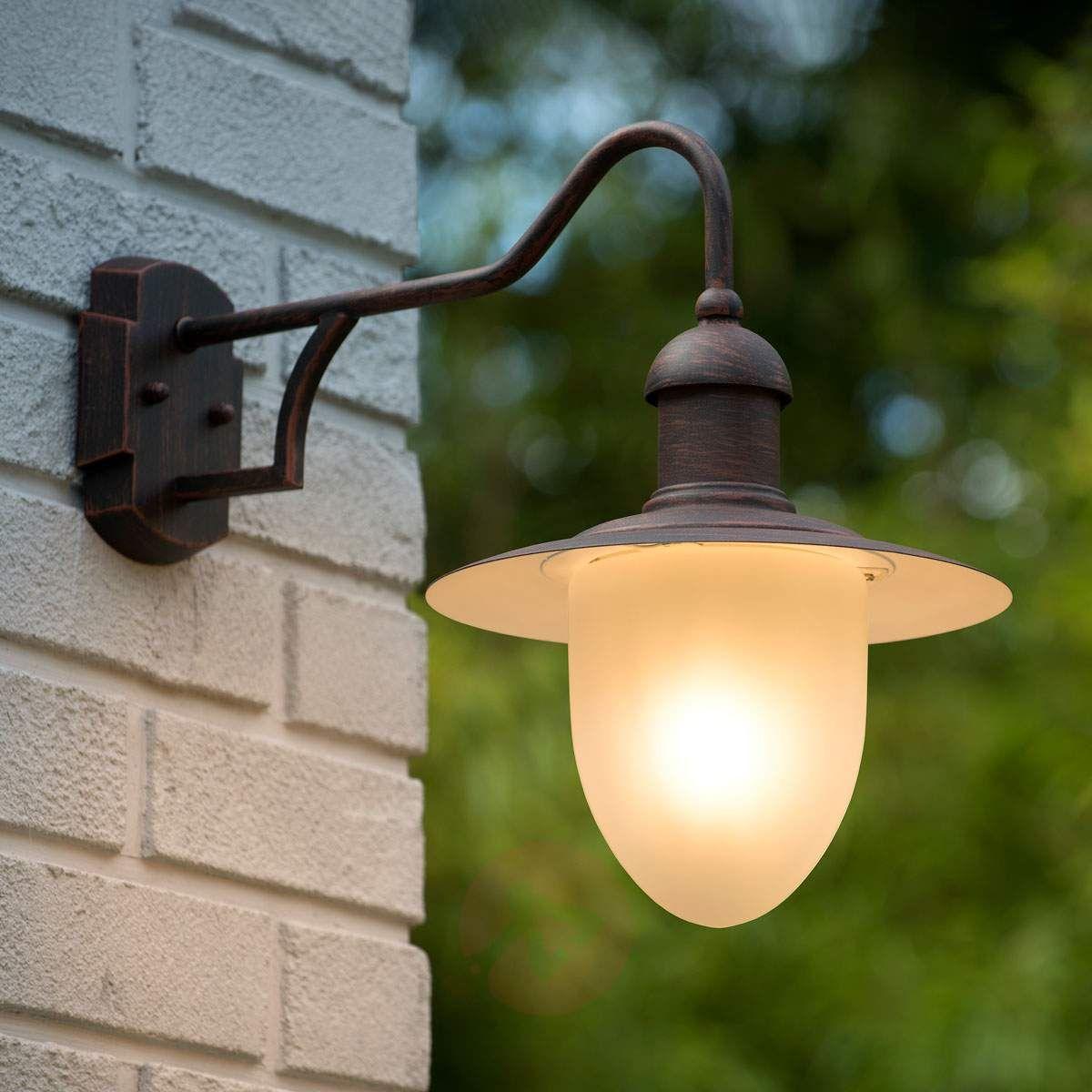 Nostalgiczna Zewnętrzna Lampa ścienna Cottage Lampy