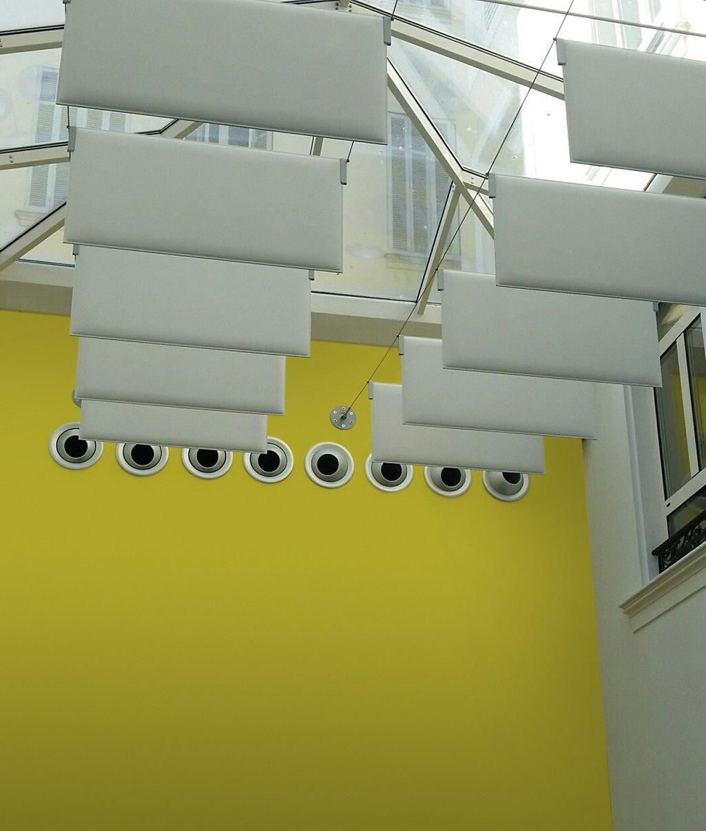 Schallschutz hängend Büro Schallschutz, Sichtschutz