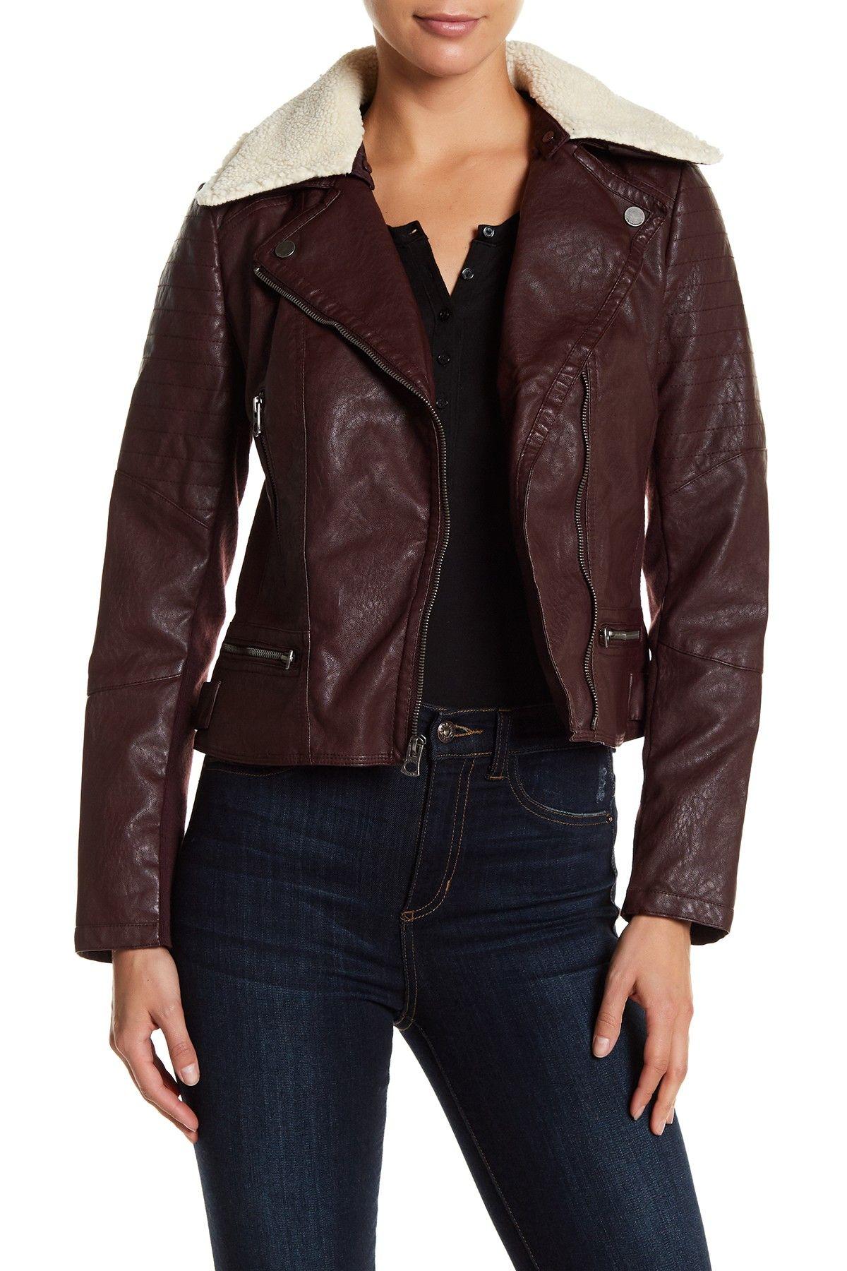 moto leather quilted levi nordstrom s jacket levis faux quilt shop rack product