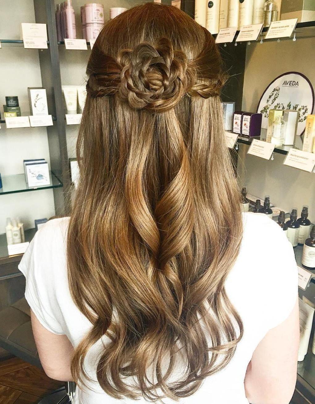 40 Diverse Homecoming Hairstyles For Short Medium And Long Hair Frisuren Lange Haare Jugendweihe Frisuren Offene Haare Glatt Hochsteckfrisuren Mittellang