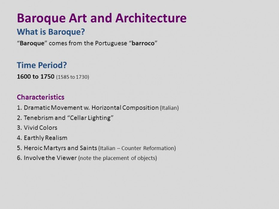 10 Things About Baroque Art Style Characteristics You Have To Experience It Yourself Baroque Art Style Characteristi Baroque Art Art And Architecture Baroque