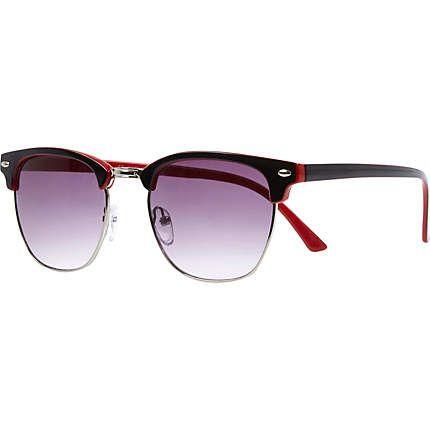 Black retro sunglasses from River Island