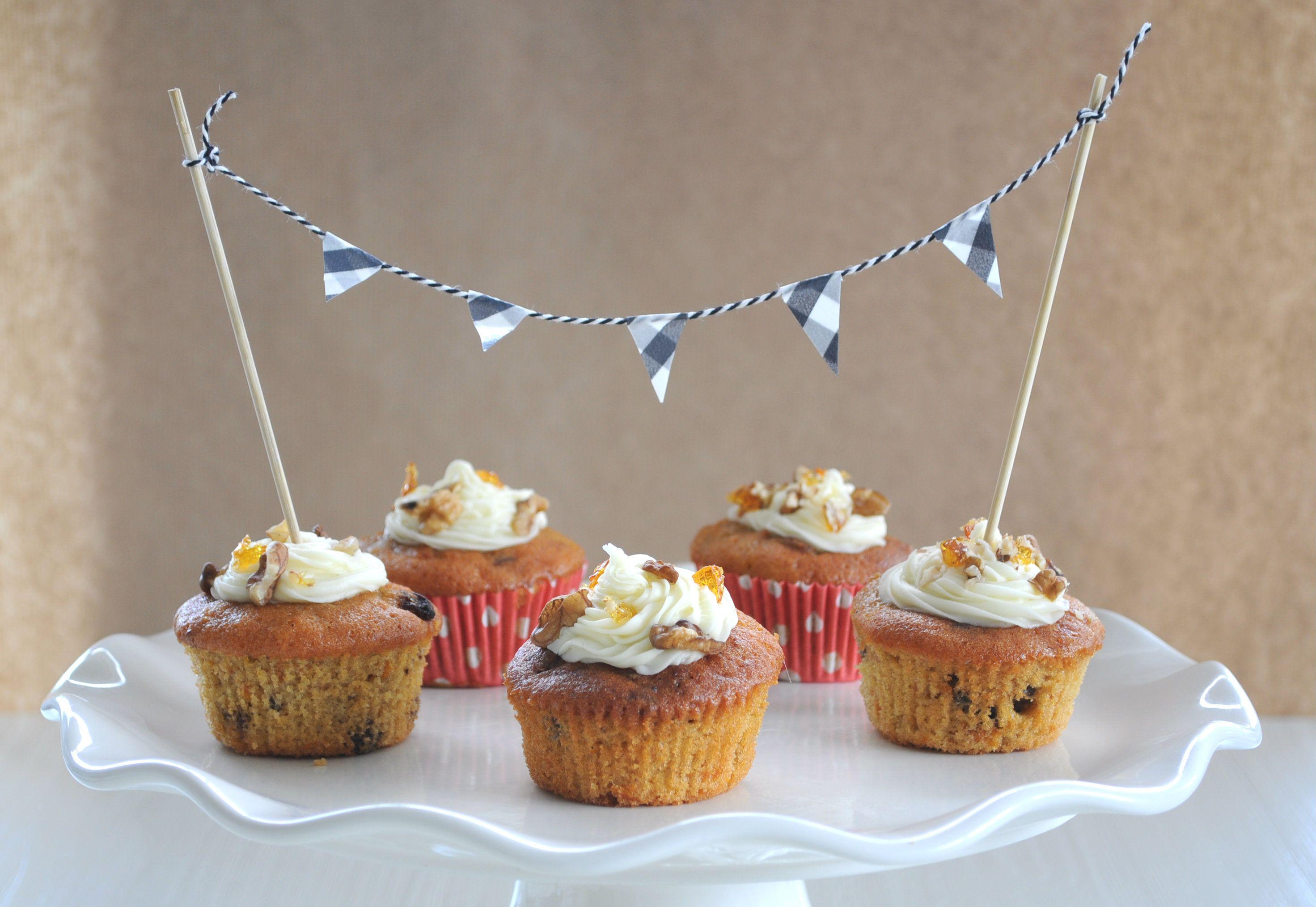 Wil je je cupcakes of taart net iets extra's geven? Met deze slinger vol…