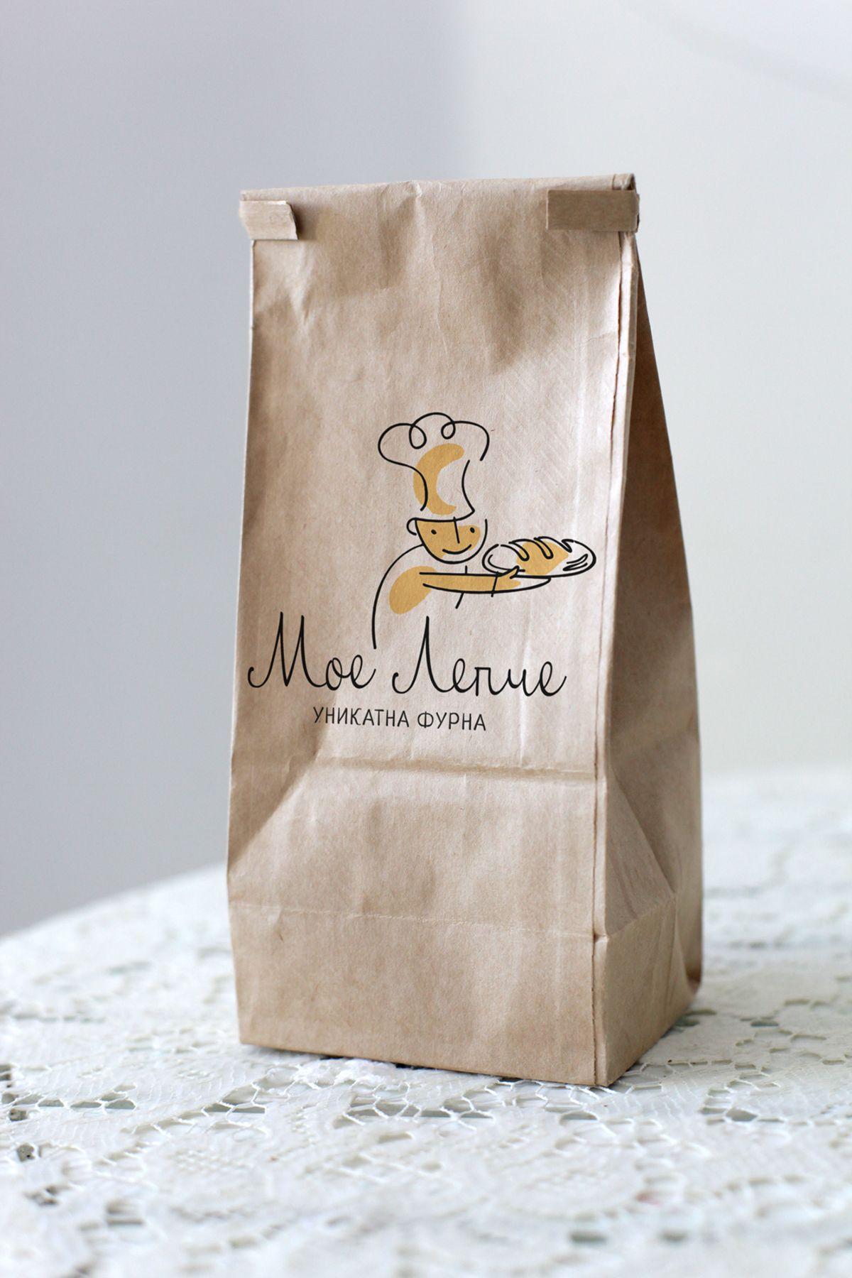 Мое Лепче My Bread Bakery on Behance Logo Food