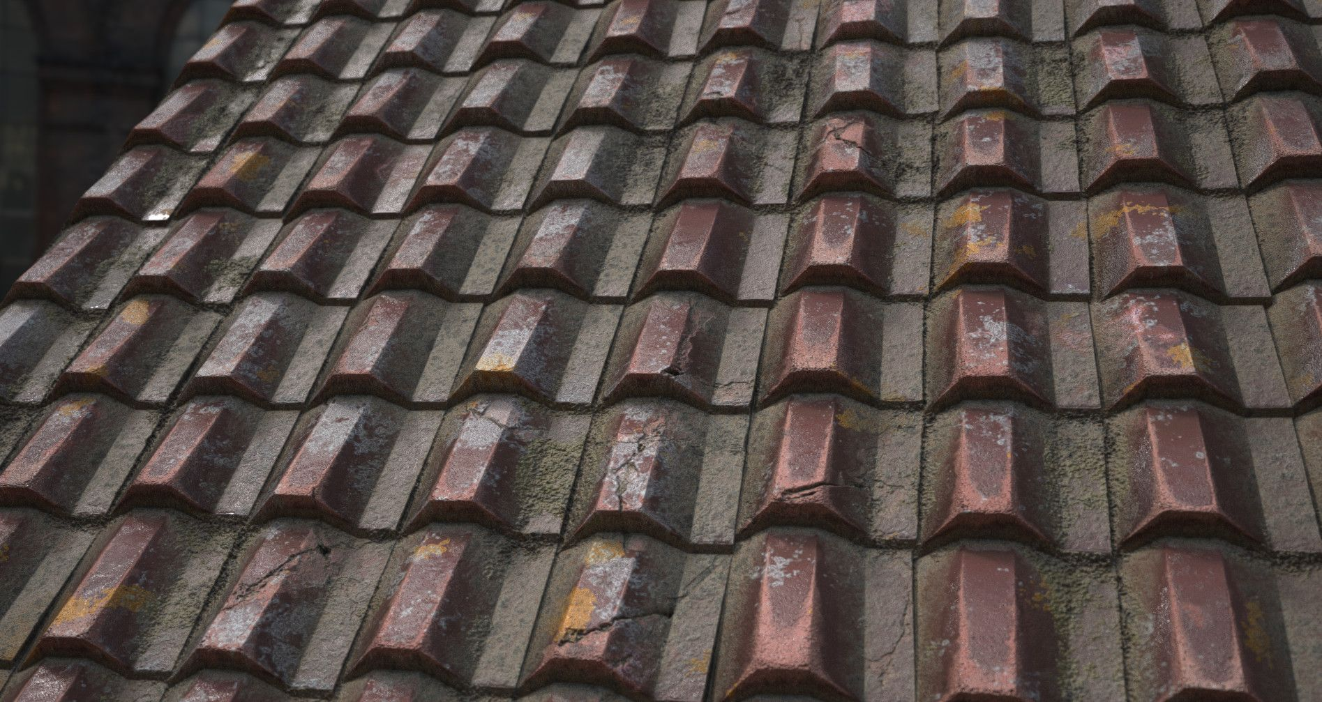 ArtStation - Ceramic Rooftiles - UPDATED, Käy Vriend