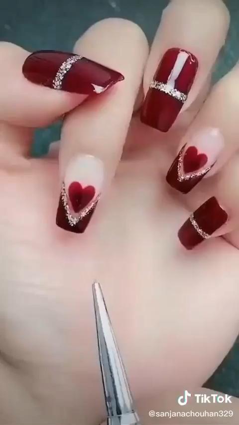 Very Creative Beautiful Nail Art Idea