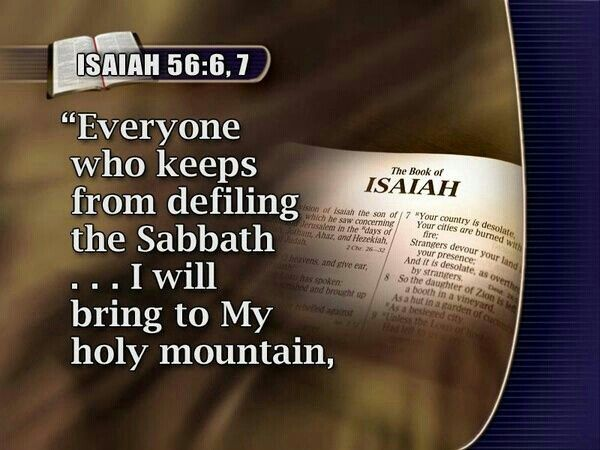 Image result for Isaiah 56:6-7 old KJV