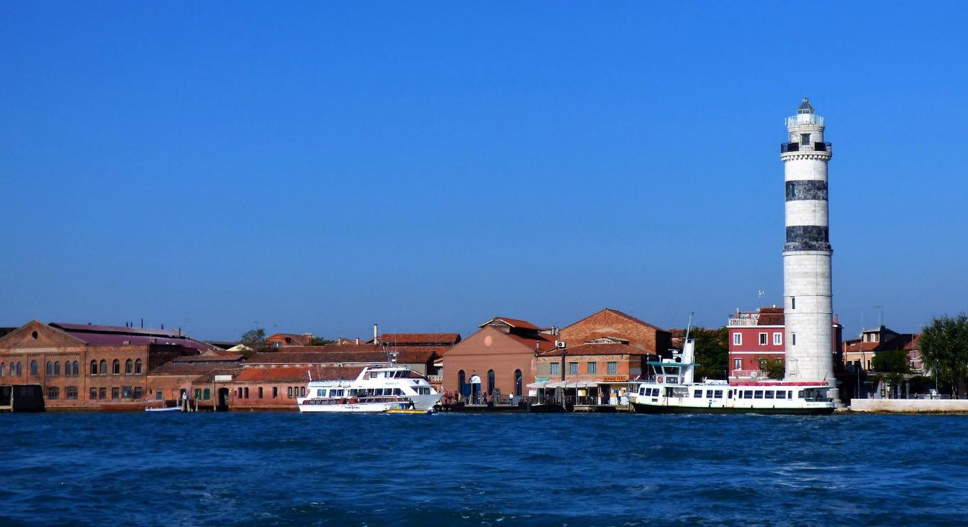 Leuchtturm von Murano, Venedig - Foto: S. Hopp