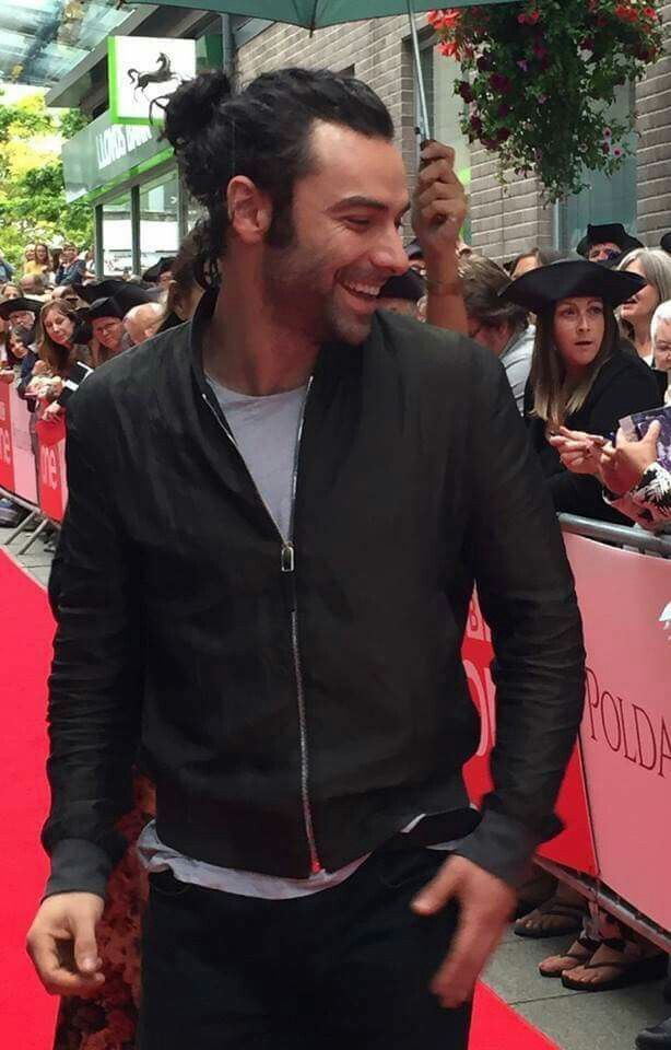 Aidan Turner ....the actor who has breathed life into Ross Poldark so passionately.... thanksAidan,take a bow