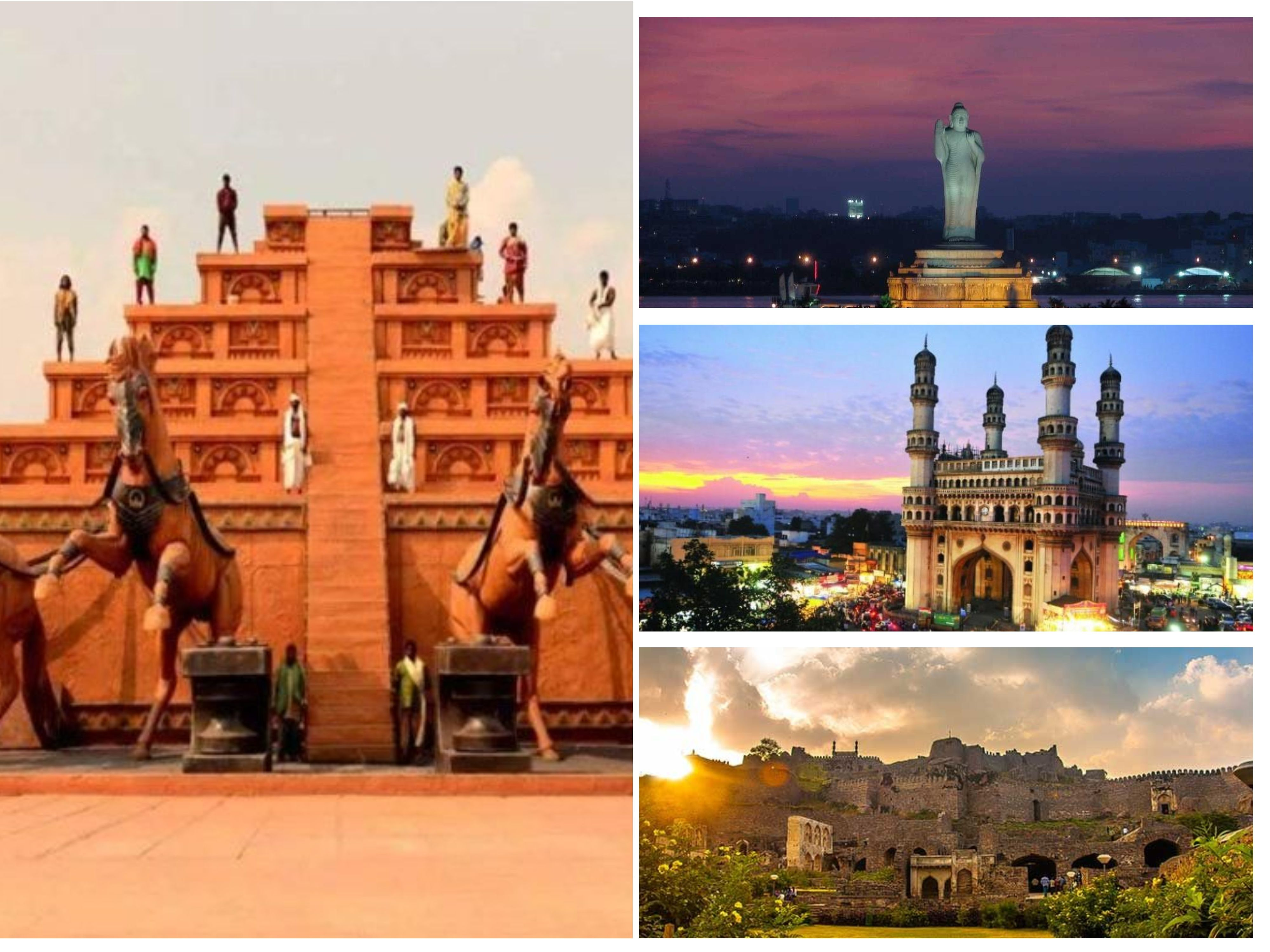 Hyderabad Andhra Pradesh India Tourist Places Sightseeing India Tour