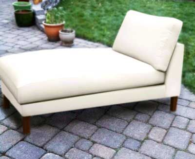 Backward Build Chaise Lounge Chair Rescued Materials