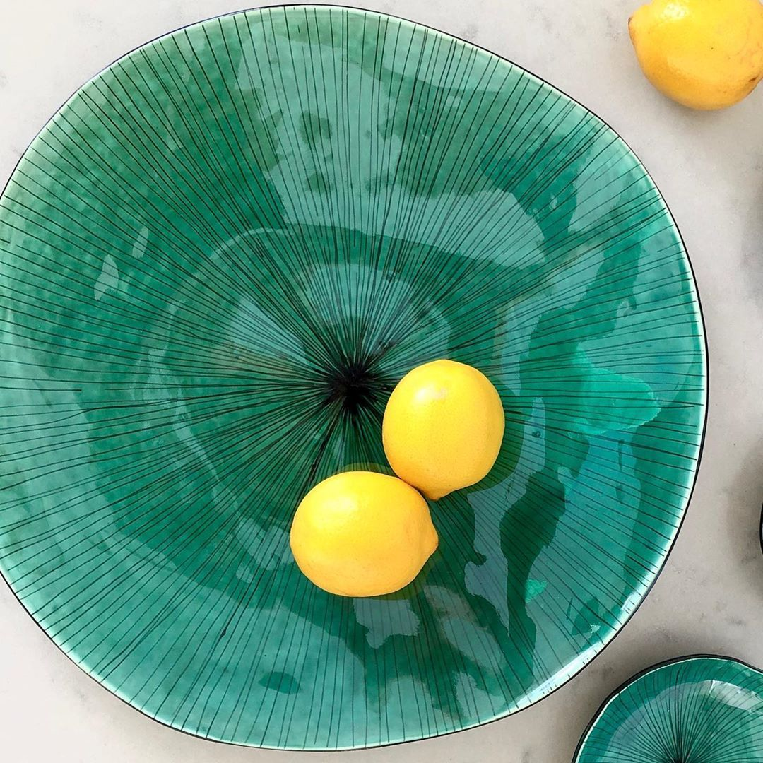 If you have been waiting for Big Stripy Bowls in Green, Turquoise or Blue, they should be ready by next week.  I'll let you know when they're available online. - - - - - #ceramicsofinstagram #instapottery #handmadeceramics #keramik #designer #interiordesign #homedecor #homewares #loveceramic #homestyling #etsyseller #etsyau #australiandesign #monalisapottery