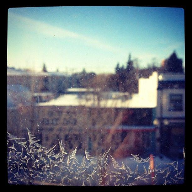 Frosty Broadway by Kate Blackport, via Flickr