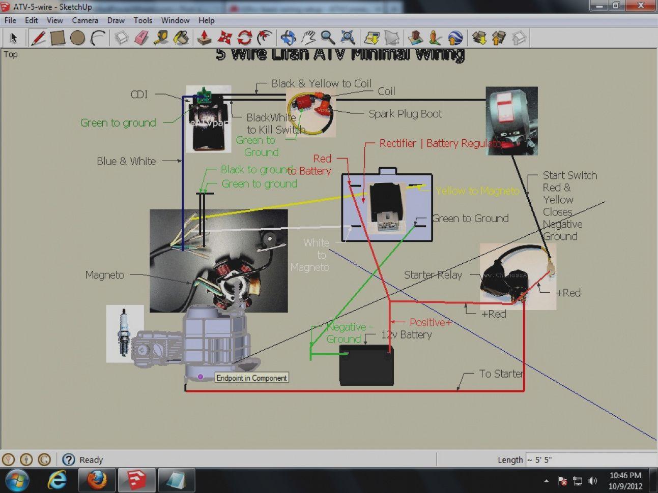 New 110cc Chinese Atv Wiring Diagram Atv 110 0 00 House Best Of Atv Camera Drawing Atv Quads