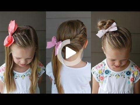 3 Five Minute Back to School Hairstyles | Q's Hairdos