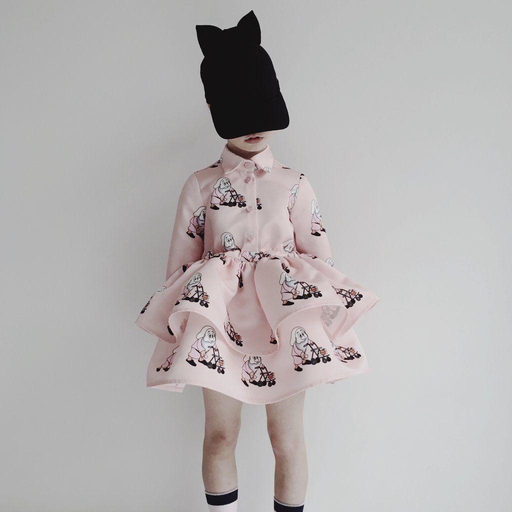 Pink dress design 2018  CAROLINE BOSMANS