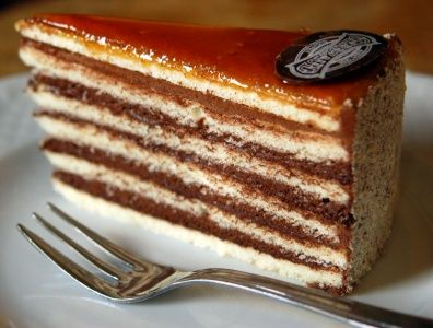 Dobos Torte Is A Hungarian Cake Named After Its Inventor