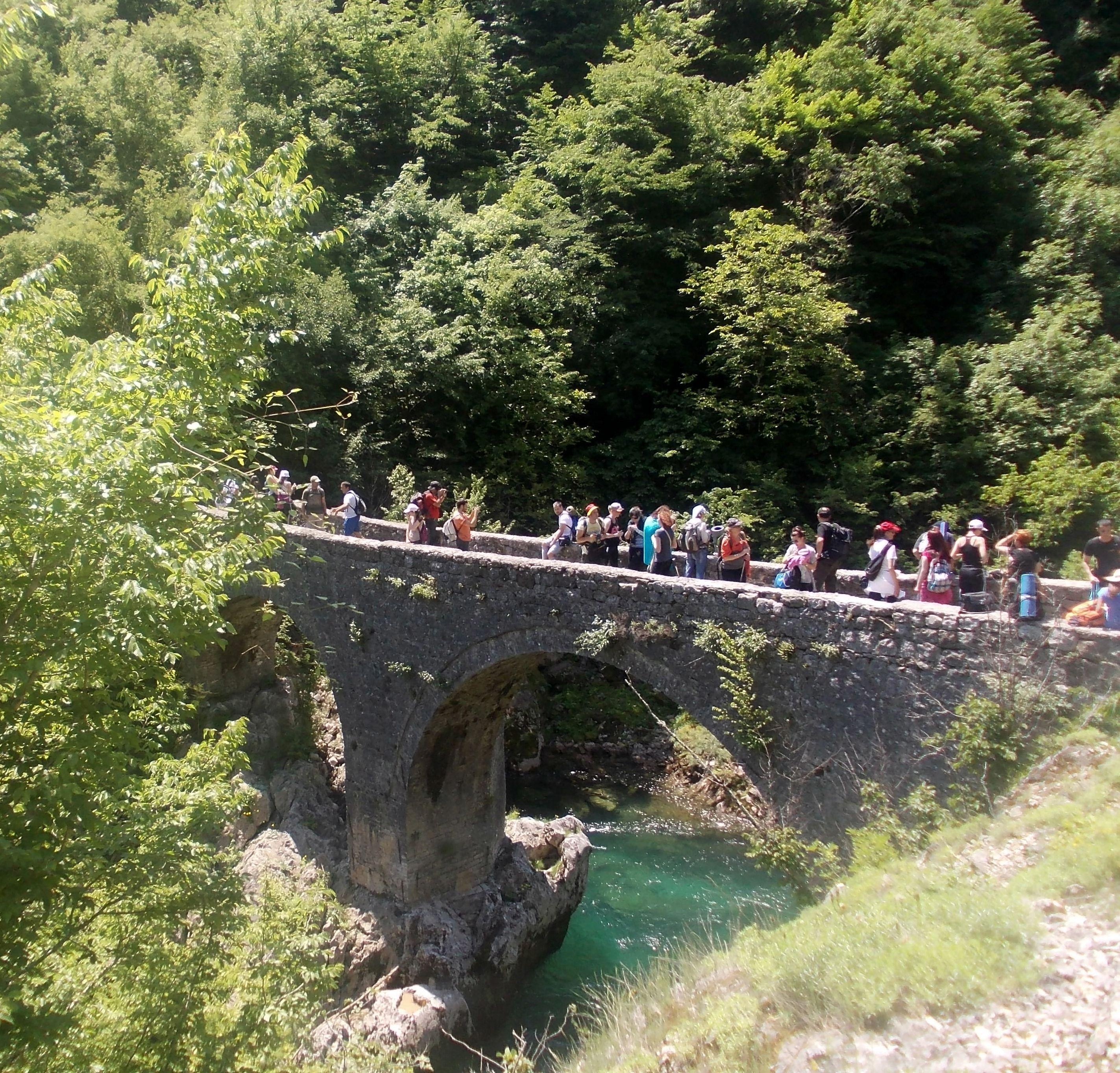Bridge on river Mrtvica
