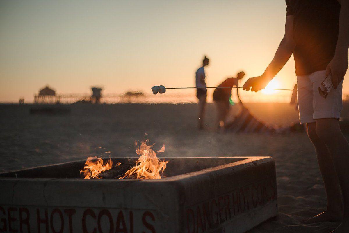 Pin By Visit Huntington Beach On Things To Do Beach Bonfire