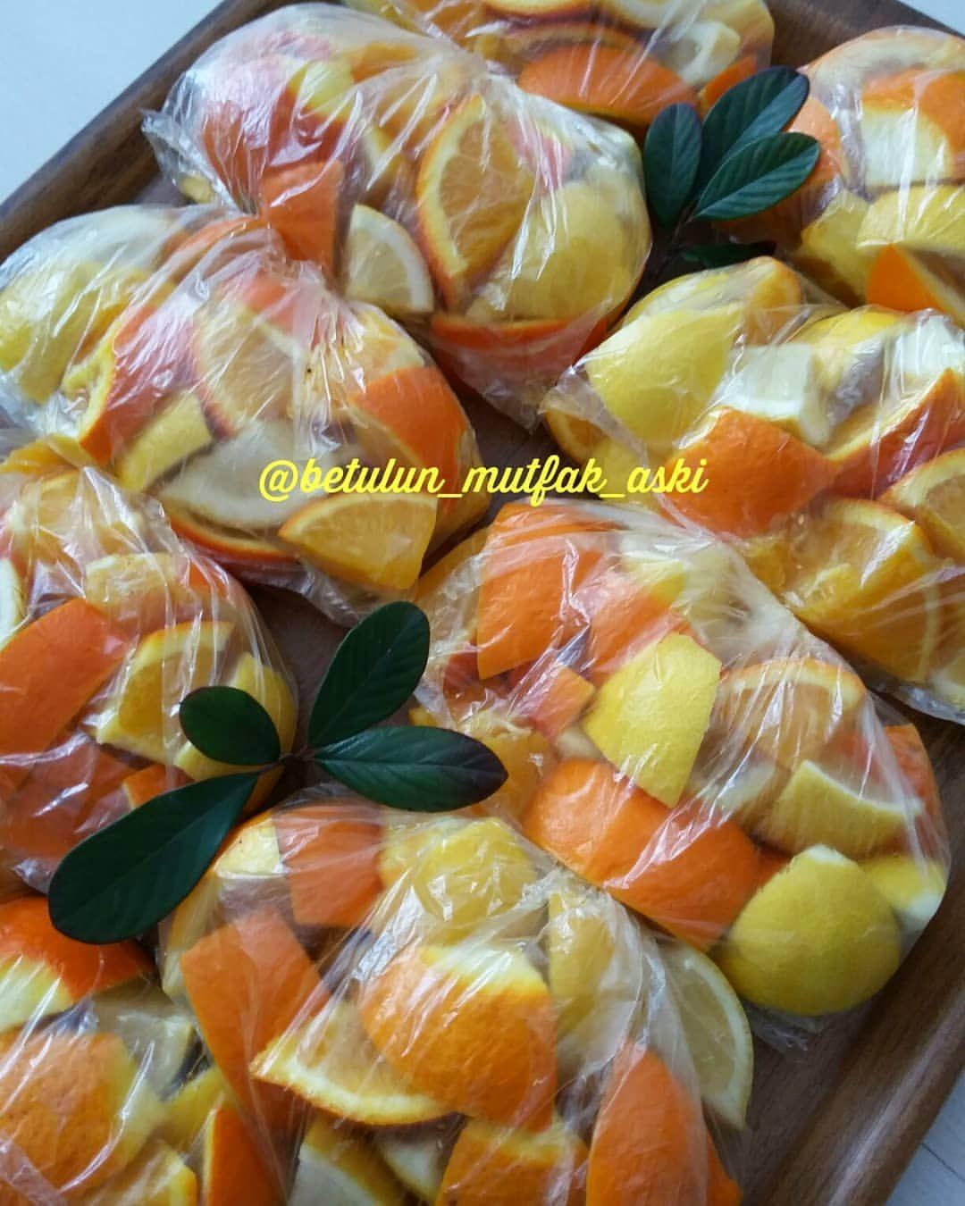 Portakal Dondurucuda Nasıl Saklanır