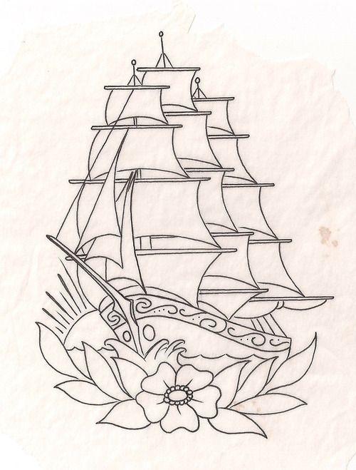 Pin by victoria on ship like tattoo insperations pinterest sail tattoo tatoo traditional tattoo flash american traditional tattoos bff tattoos tattoo portfolio tattoo templates primitive ships maxwellsz