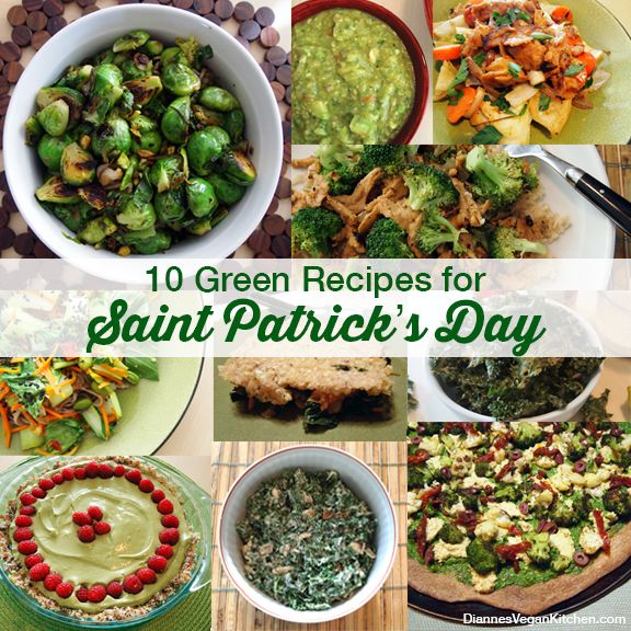 10 Green Recipes For Saint Patrick's Day