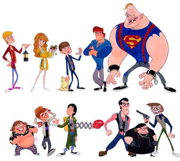 Character Designer Salary Disney : Goonies stephen silver ilustracion e inspiracion