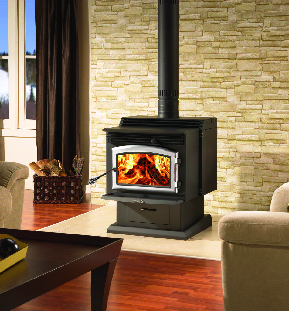 Wood Stoves Don T Function The Same When The Weather Begins To Warm Up Learn How To Standing Fireplace Wood Burning Stoves Living Room Freestanding Fireplace