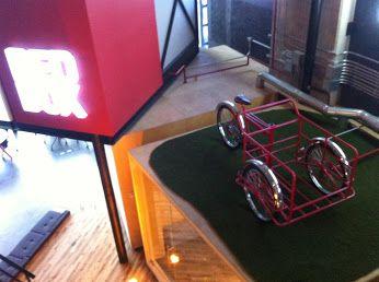 Triciclo de tamalero en REDBOX