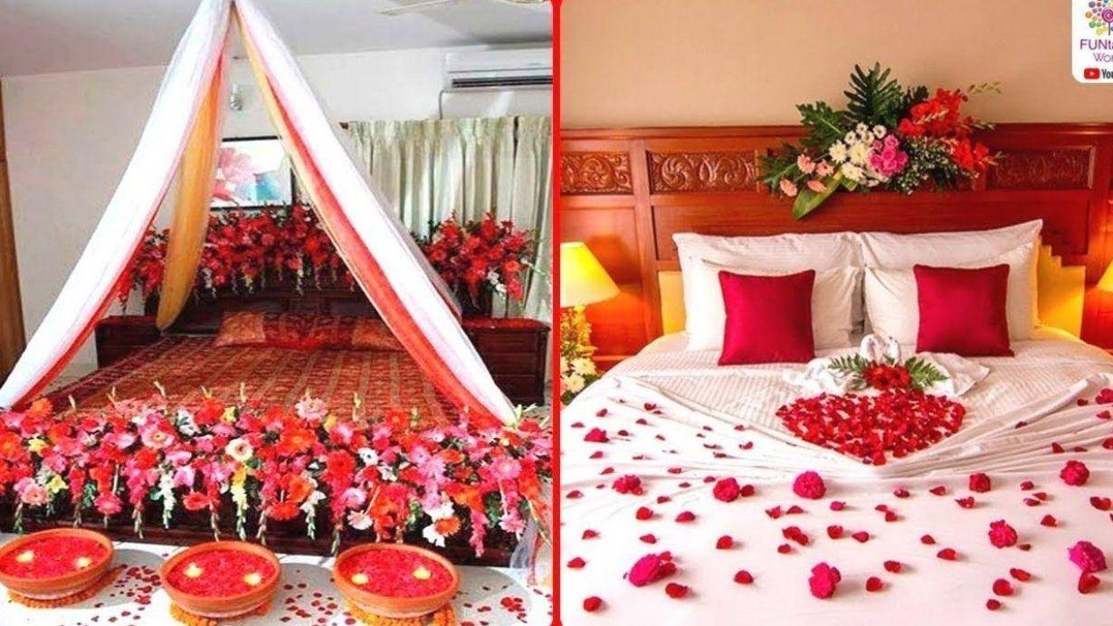 Romantic Wedding Marriage Room Decoration Ideas Bridal Decorationmariage Decorationmariagechampetre De In 2020 New Bedroom Design Room Decor Wedding Bedroom