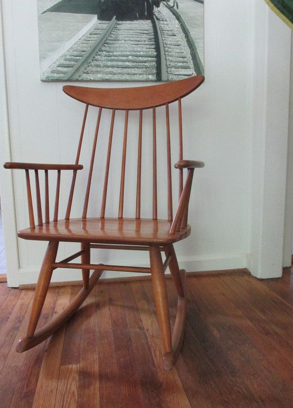 Russel Wright For Conant Ball Rocking Chair