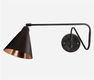 House Doctor væglampe Game, sort | Vægbelysning, Væglampe