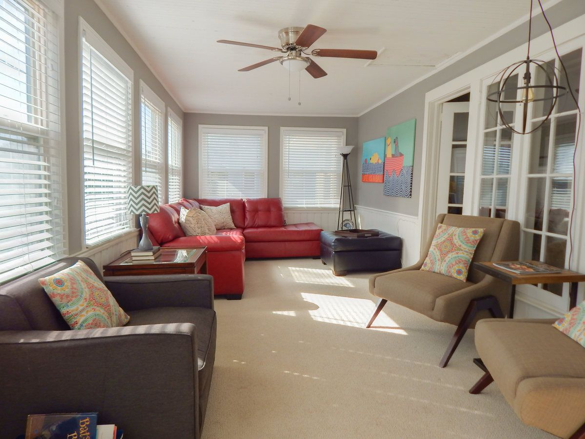 Sunroom Off Of The Living Room Home Decor Home Room