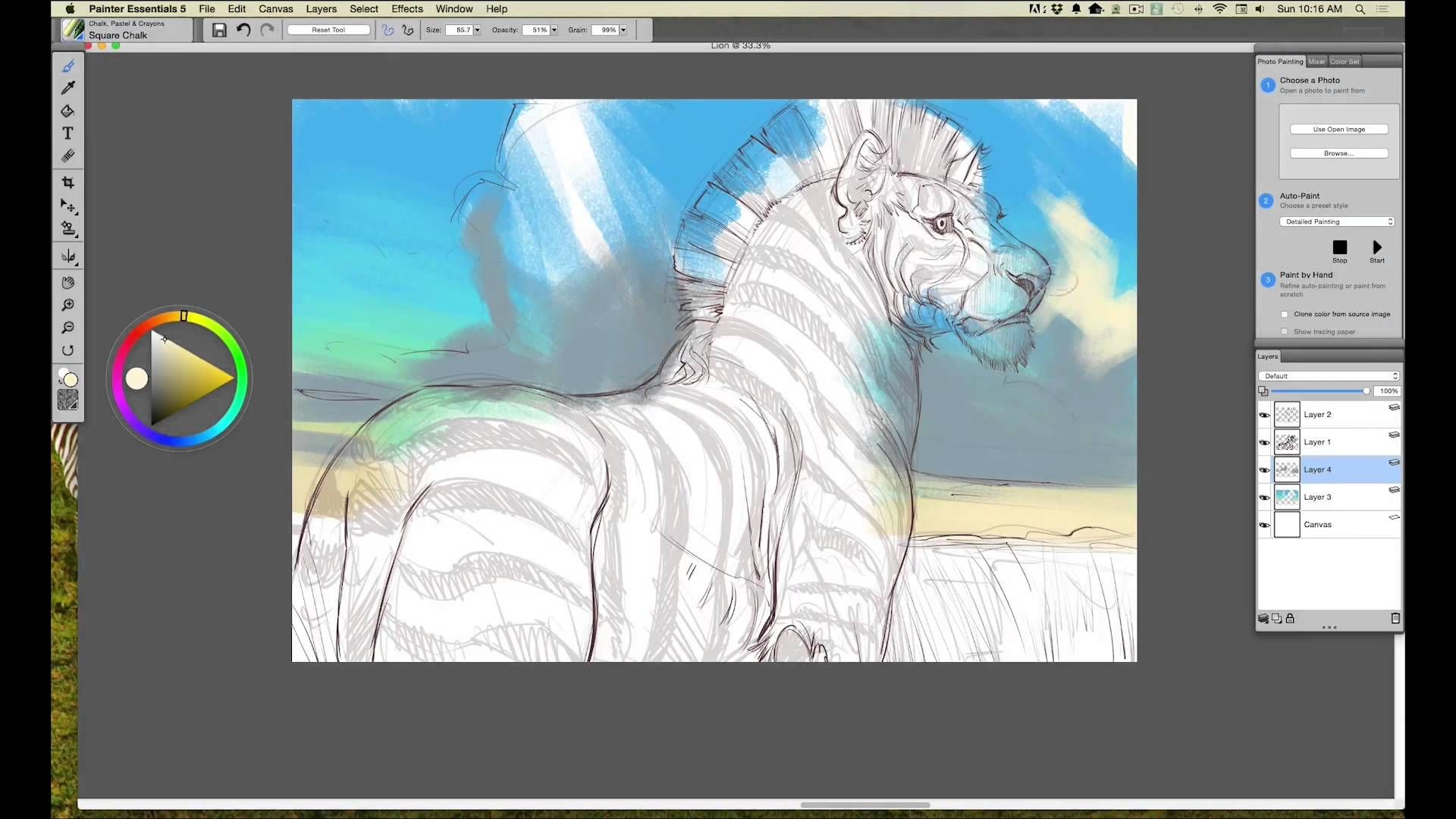 corel painter essentials drawing and painting software