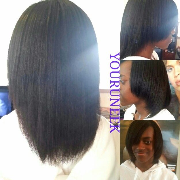 Relaxed Hair And Silk Wrap Growing Healthy Relaxed