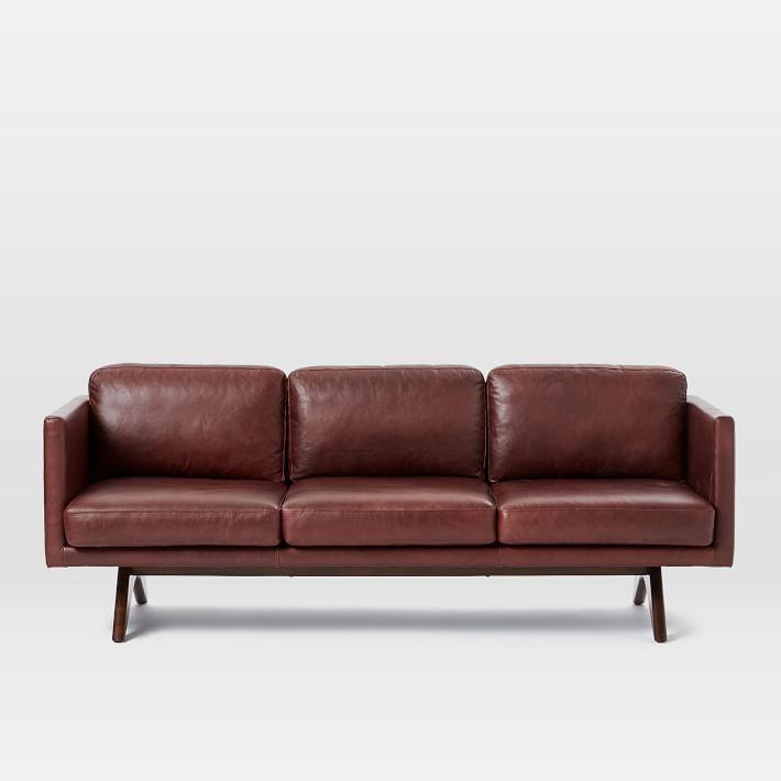 Sleeper Sofas Brooklyn Leather Sofa