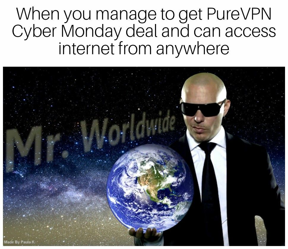 Cyber Monday PureVPN 88%