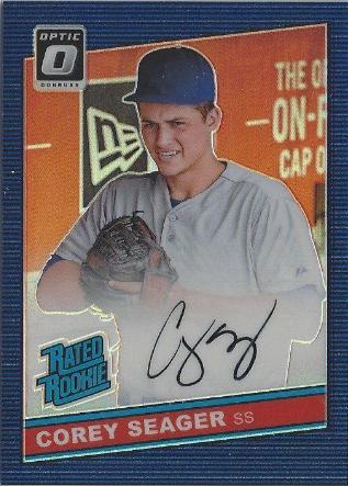 2016 Donruss Optic Baseball The Dodgers Autograph Cards Dodgers