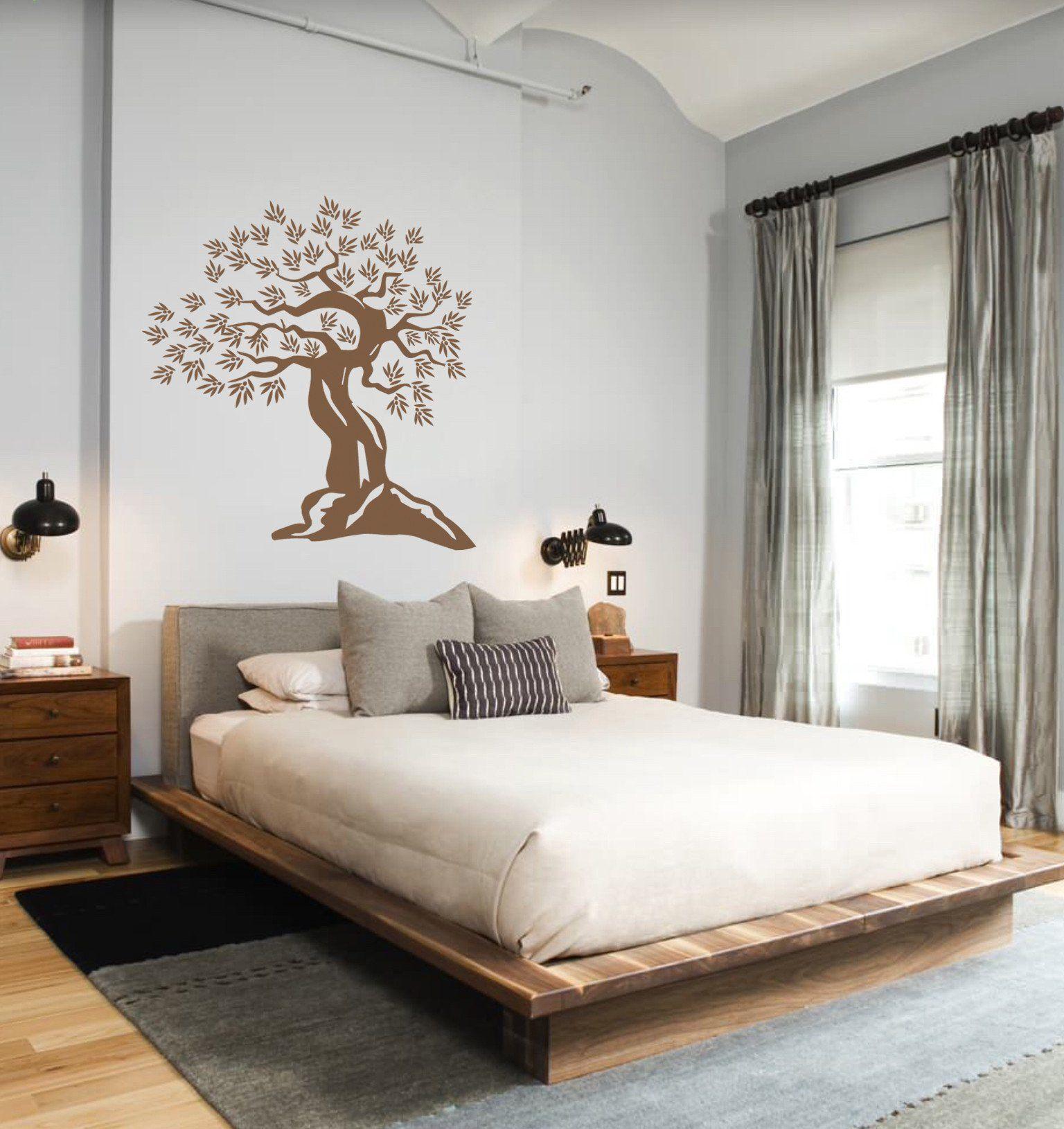 Best Ik311 Wall Decal Sticker Decor Old Olive Tree Bedroom Kids 400 x 300