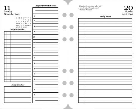 Daily Planner Page Template* Pixel Scrapper Pinterest
