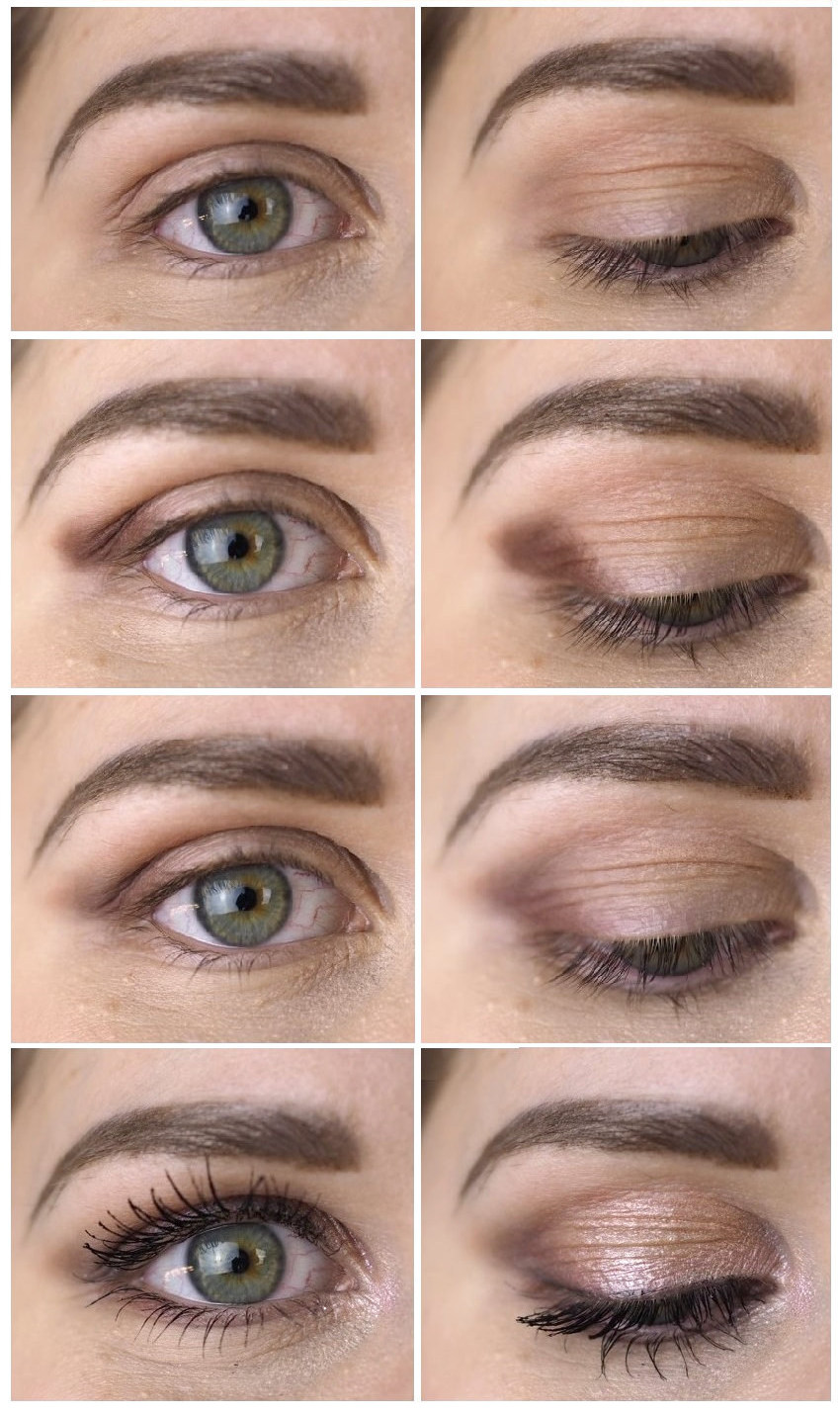 How to: makeup for round deep set eyes  Makeup for round eyes